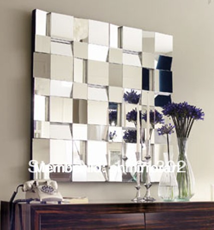 Buy hot selling 3d wall decorative mirror for Wholesale mirrors
