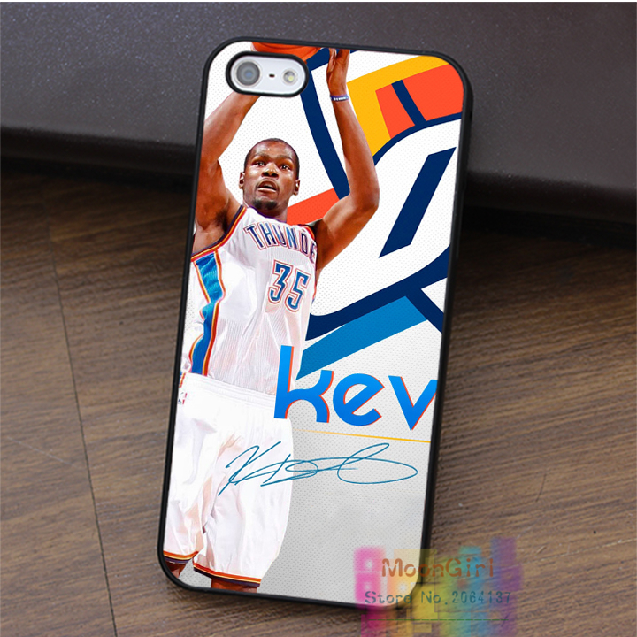 Kevin Durant KD fashion cell phone case for iphone 4 4s 5 5s 5c SE 6 6s & 6 plus & 6s plus #LI1746(China (Mainland))