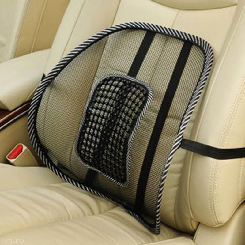 Mesh Lumbar Back Brace Support Office Home Car Seat Chair Cushion Office Seat