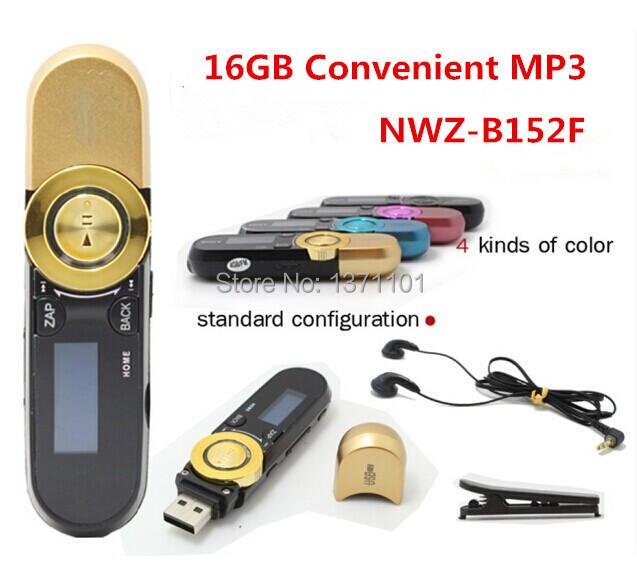 New Arrival B152F 16GB mp3 players 5 colors FM-radio Digital Screen MP3 Music Player Pen USB Flash Drive Free Shipping(China (Mainland))