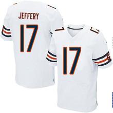 Men's #17 Alshon Jeffery Elite White Jersey 100% stitched(China (Mainland))
