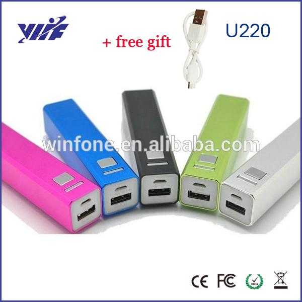 Powerbank 2600mah power bank mobile phone bateria externa battery portable charger cargador protatil para celular bateria(China (Mainland))