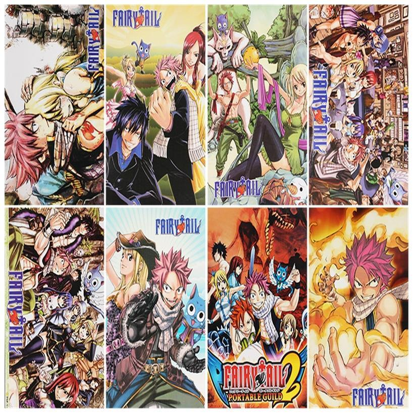 Popular fairy tail poster buy cheap fairy tail poster lots for Buy posters online cheap