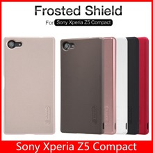 Phone Case for Sony Xperia Z5 Compact Original NILLKIN Frosted Shield Cover + Screen Film + Retail Package + Registered Air Mail