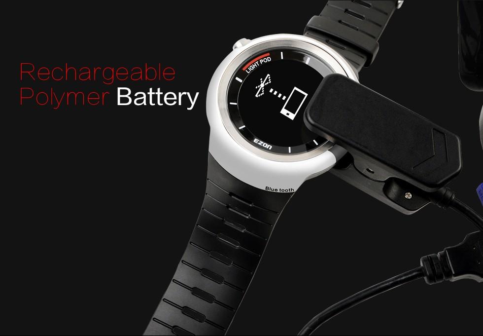 EZON smart casual sport utility электронные часы качество мужская 50 м водонепроницаемый часы S2 скорость запуск шагомер