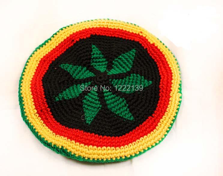 Fashion Knitted Jamaica Rasta Hat Fancy Dress Costume Halloween Crochet Beanie Reggae Cap For Women Men(China (Mainland))