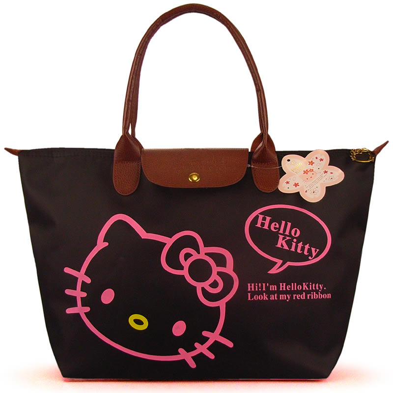 2016 Hot Selling Women's Cartoon Handbags High Quality Waterproof Shopping Bag Hello Kitty Casual Tote bags Woman Shoulder Bag(China (Mainland))