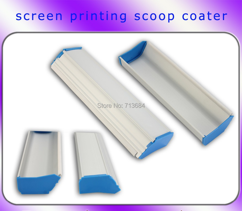 1 cm length manual screen printing emulsion scoop coater screen press make plate aluminium alloy coaterMOQ 10CM(China (Mainland))