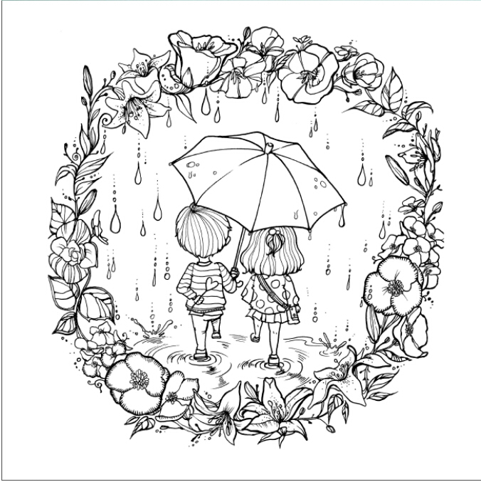 Grown Up Coloring Book | | Coloring Page Books and etc