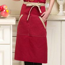 Adult Apron Korean Fashion Kitchen Restaurant Tea Shop Coffee Shop Supermarket Chef Overalls Apron(China)