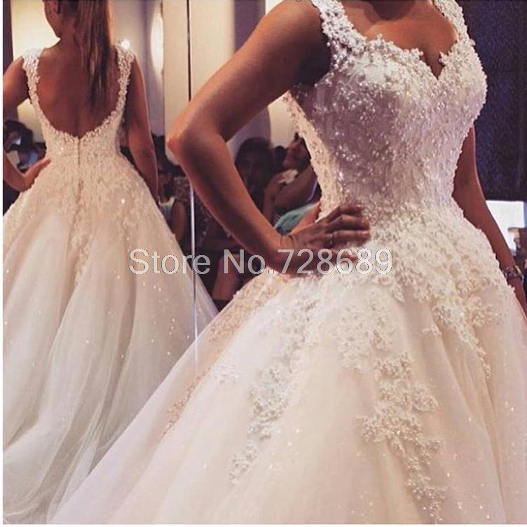 Wedding Dresses Pearls 94