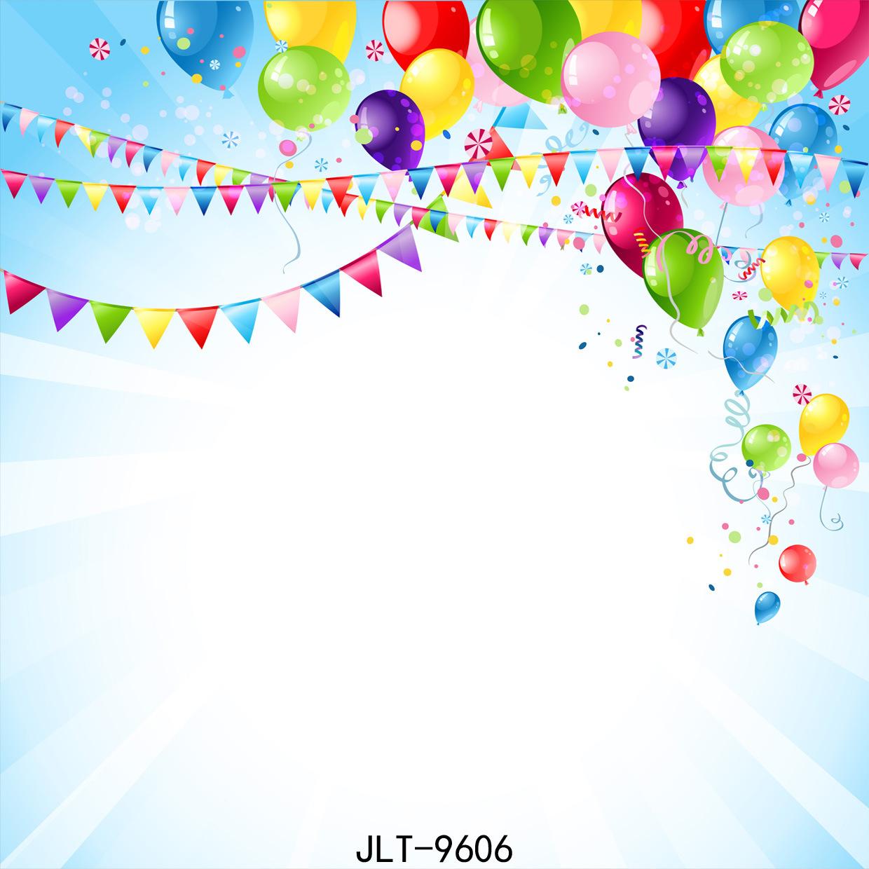 Happy Birthday balloon Cartoon Vinyl graphy flag