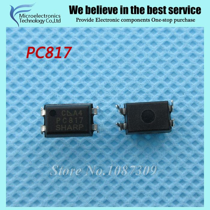 100pcs free shipping PC817 EL817 817 DIP-4 photoelectric coupler 100% new original quality assurance(China (Mainland))