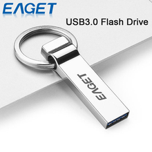 EAGET U90 Official Licensed USB 3.0 Flash Drive 32G 16G USB Stick Pen Drive Metal Key Ring Memory Stick Waterproof U disk(China (Mainland))
