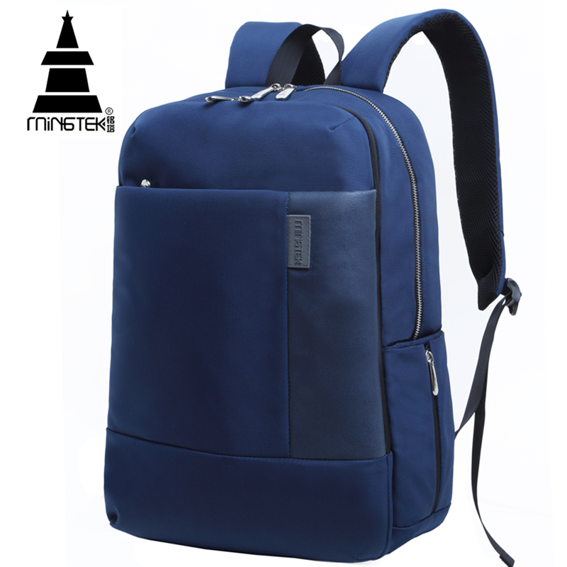 Business Laptop Backpack 14 15.6 17 inch Casual Computer Backpacks Waterproof Nylon Outdoor School Bags For Teenagers Unisex(China (Mainland))