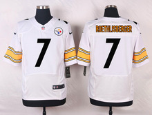 100% Stitiched,high quality,Pittsburgh steeler Ben Roethlisberger for mens(China (Mainland))