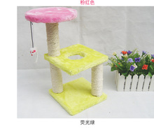 Cat rack toy pet toy climbing frame scratch board cat tree litter cat jumping(China (Mainland))