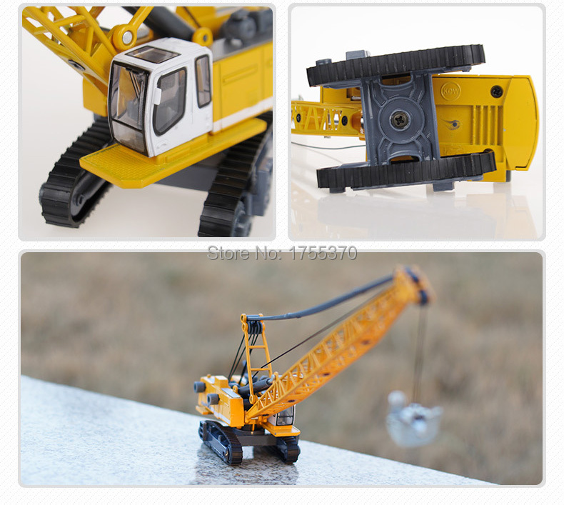 1:87 Glide Alloy Building Automobiles Toy Mannequin Cable Excavator Truck Mannequin Instructional Toys For Children Boy