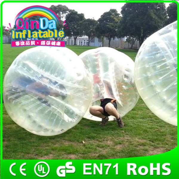 Inflatable human sized soccer bubble / bubble football / loopy ball(China (Mainland))