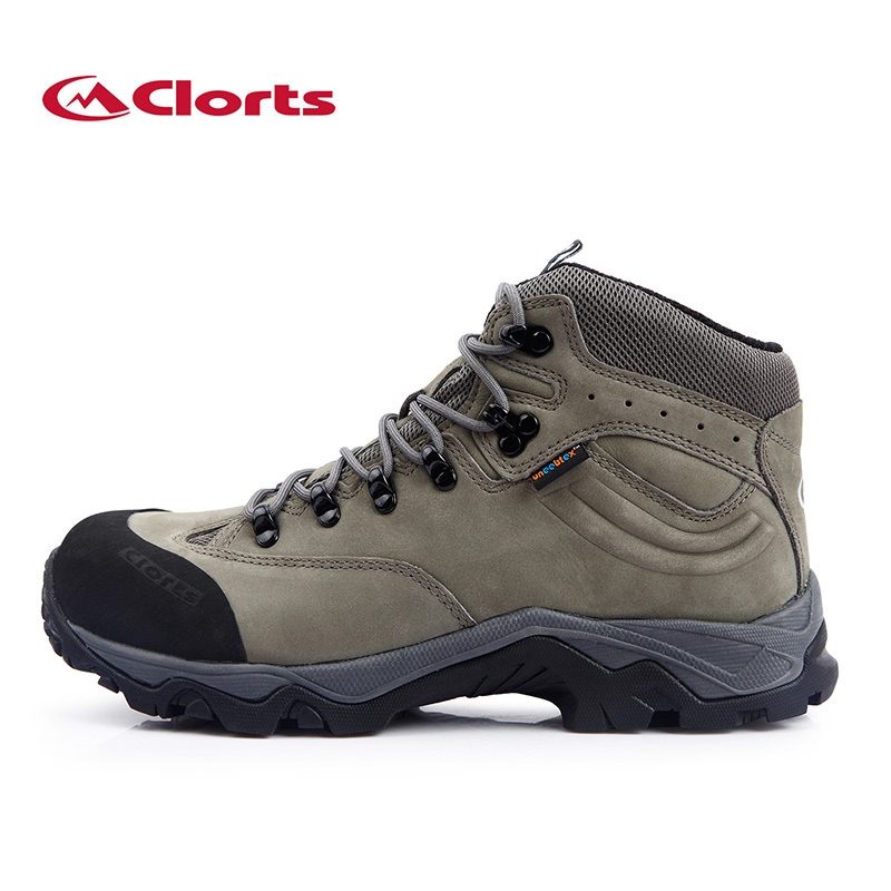 Фотография Clorts Men Waterproof Hiking Boots Shoes Fashon Outdoor Sports Shoes Winter Autumn Mountain Boots HKM-821B