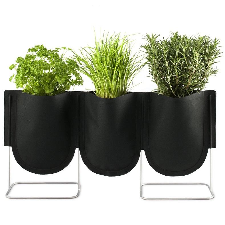 Mur mont aucun tiss accroch verticale plantes pot de - Accroche pot de fleur ...