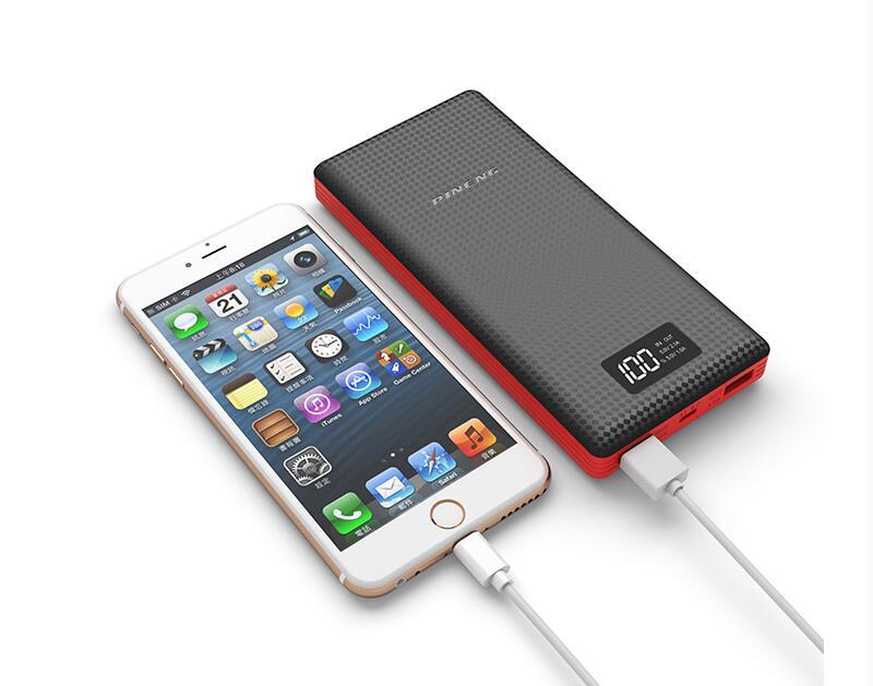 Pineng 18650 Power Bank 20000 мАч Powerbanks 20000 Dual usb 2A для iPhone 5 Заряда 870% Дисплей Универсальный fleetwood mac fleetwood mac life becoming a landslide 2 lp
