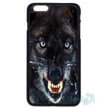 Fit for iPhone 4 4s 5 5s 5c se 6 6s 7 plus ipod touch 4/5/6 back skins cellphone case cover Animal Wolf Cool