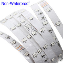 Buy smd RGB led strip light 5m 3528 DC12V 54leds/m fexible smd led light led tape ribbon ip20 waterproof 5m/roll for $2.95 in AliExpress store