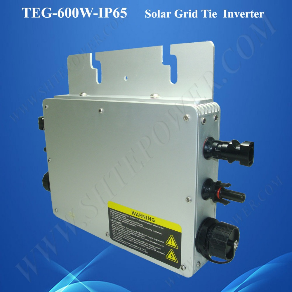 2015 NEW DC 24v AC 230v 600w micro inverter grid connection for grid tie solar system(China (Mainland))