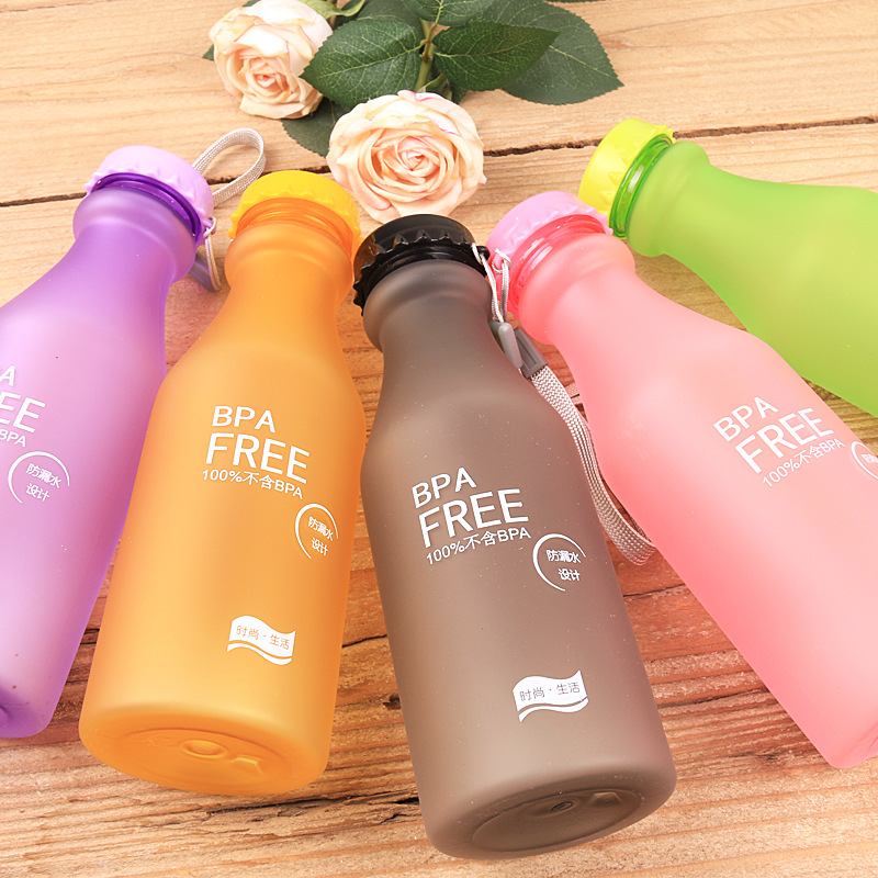 Гаджет  Free shipping in fashionable new grind arenaceous, BPA soda bottle creative frosted glass plastic cup None Изготовление под заказ