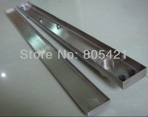 Free shipping (1000mm length )a tile insert floor drain  , Tile insert linear drain