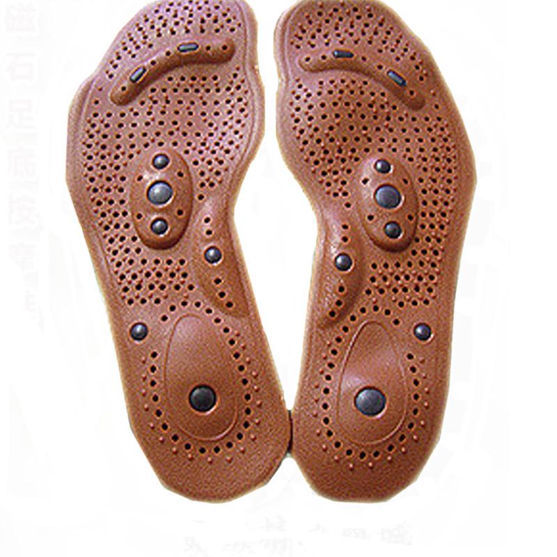 1Pair Magnetic Therapy Magnet Health Care Foot Massage Men Women Foot Care Comfort Pads Deodorant Antiperspirant(China (Mainland))