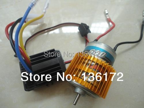1/10 rc car parts 540 Brush motor +hobbywing 320A 40amp Brush ESC waterproof WP-1040 for 1/10 RC Car free shipping<br><br>Aliexpress