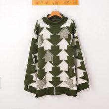 2018 Spring Autumn New Coat long-Sleeved Female Korean Version Loose Long Sleeved Sweater Wearing Tide Black White Tassel Z239(China)