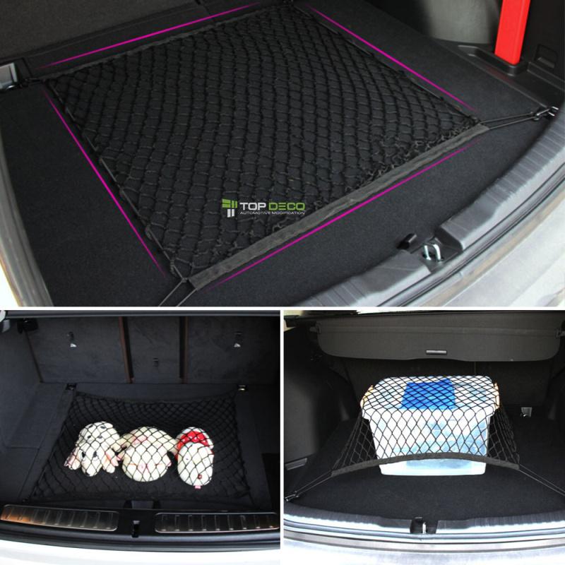 4 Hooks Car Trunk Cargo Organizer Storage Net For Dodge Caliber Challenger Charger Durango Nitro Car Styling(China (Mainland))