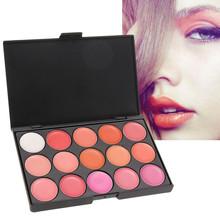 Hot Pro 15Colors long lasting Matte Lipstick Lip Gloss Makeup Palette for Women Beauty to Mouth DIY Tools Lip stick Cosmetics