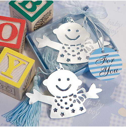 Bridal Shower Gift Baskets For Guests : ... gifts Baby Boy Bookmarks for Bridal Shower Wedding Gifts for Guests