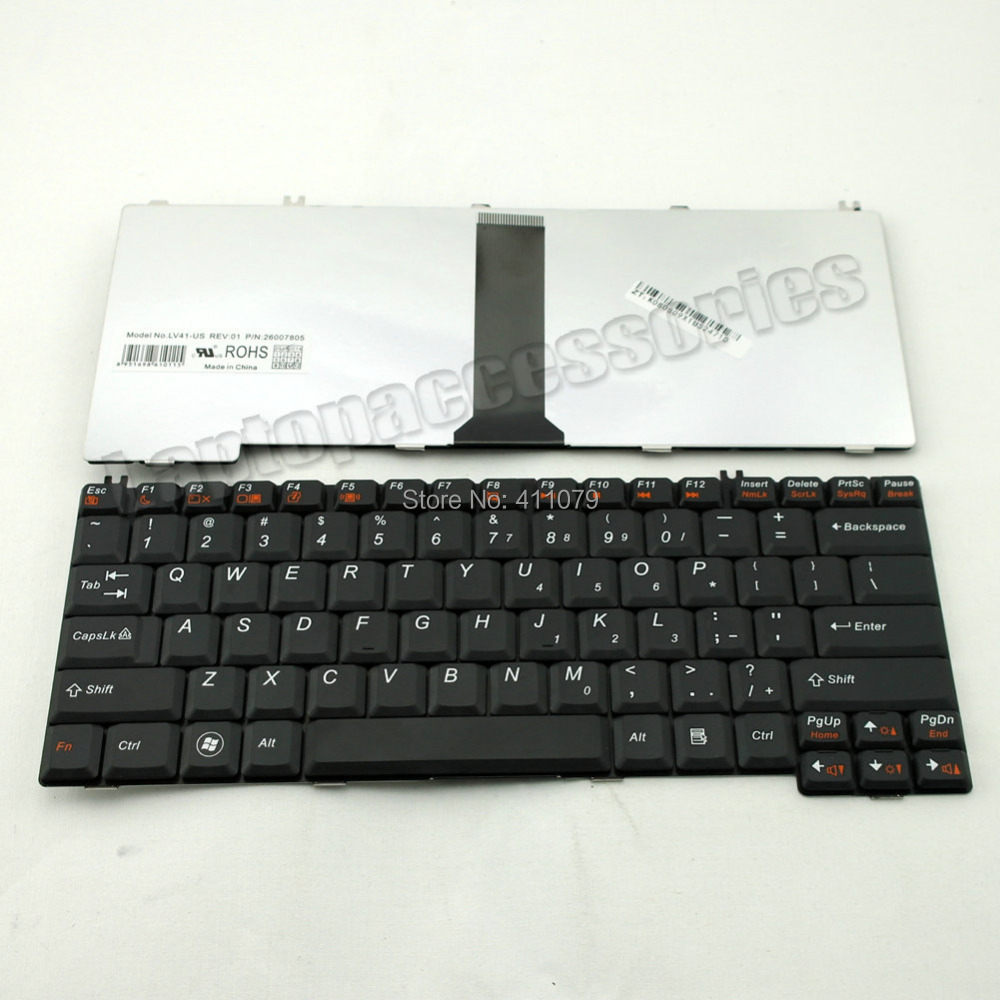 New For IBM Lenovo Y410/a Y430 Y430A Y520 Y330 Black Laptop US Keyboard Teclado Wholesale (K164)(China (Mainland))