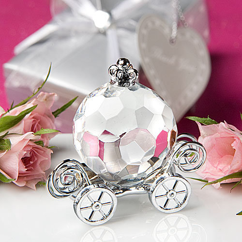 100Pcs Free Shipping Choice Crystal Favors Pumpkin Coach Crystal Favor Accessary Gifts With Gift Box Souvenirs Wedding Favour(China (Mainland))