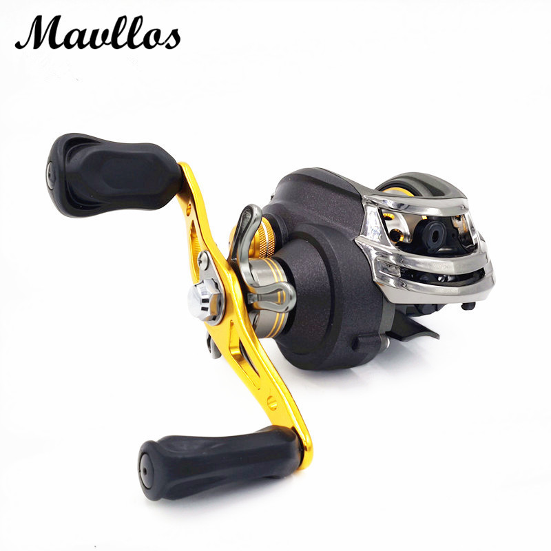 Mavllos Japan Brand 18BB Baitcasting Reel Left Right Hand Saltwater Carp Bait Casting Fishing Reel Water Drop Wheel(China (Mainland))