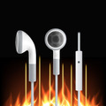 image for 2016 New 3.5mm Double Jack Adapter To Headphone For Samsumg For IPhone