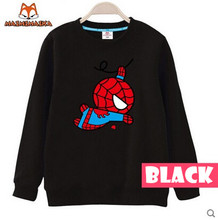 Children Sweaters 2015 Autumn Cute Spiderman Boys Sweaters Girls T Shirts Casual Children Clothing Baby Kids Sweaters Outerwears(China (Mainland))