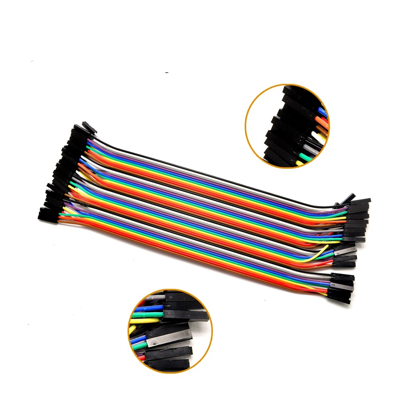 Free shipping Dupont line 120pcs 20cm male to male + male to female and female to female jumper wire Dupont cable for Arduino