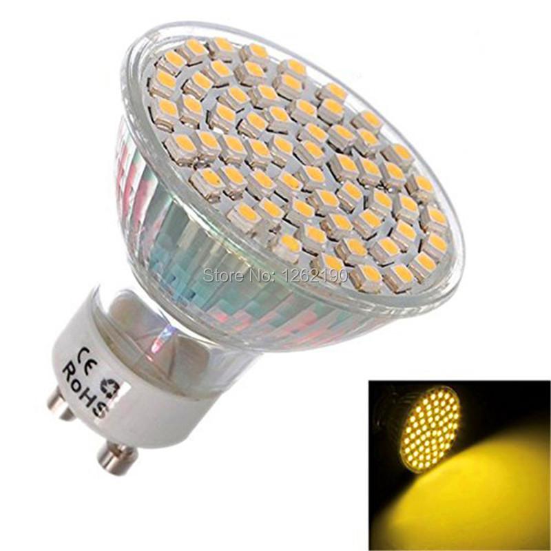 10Pcs/Lot 220V 110V LED GU10 5W SMD 5050 Warm White Pure White Energy Saving Spotlight Bulb SMD GU10 LED Lamp Free Shipping(China (Mainland))