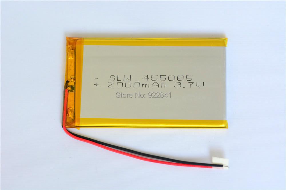 High Quality+ 3.7V 2000mAh 455085 Polymer Lithium Li-Po Rechargeable Battery Bluetooth Earphones - KingWei Electronics Co., Ltd store