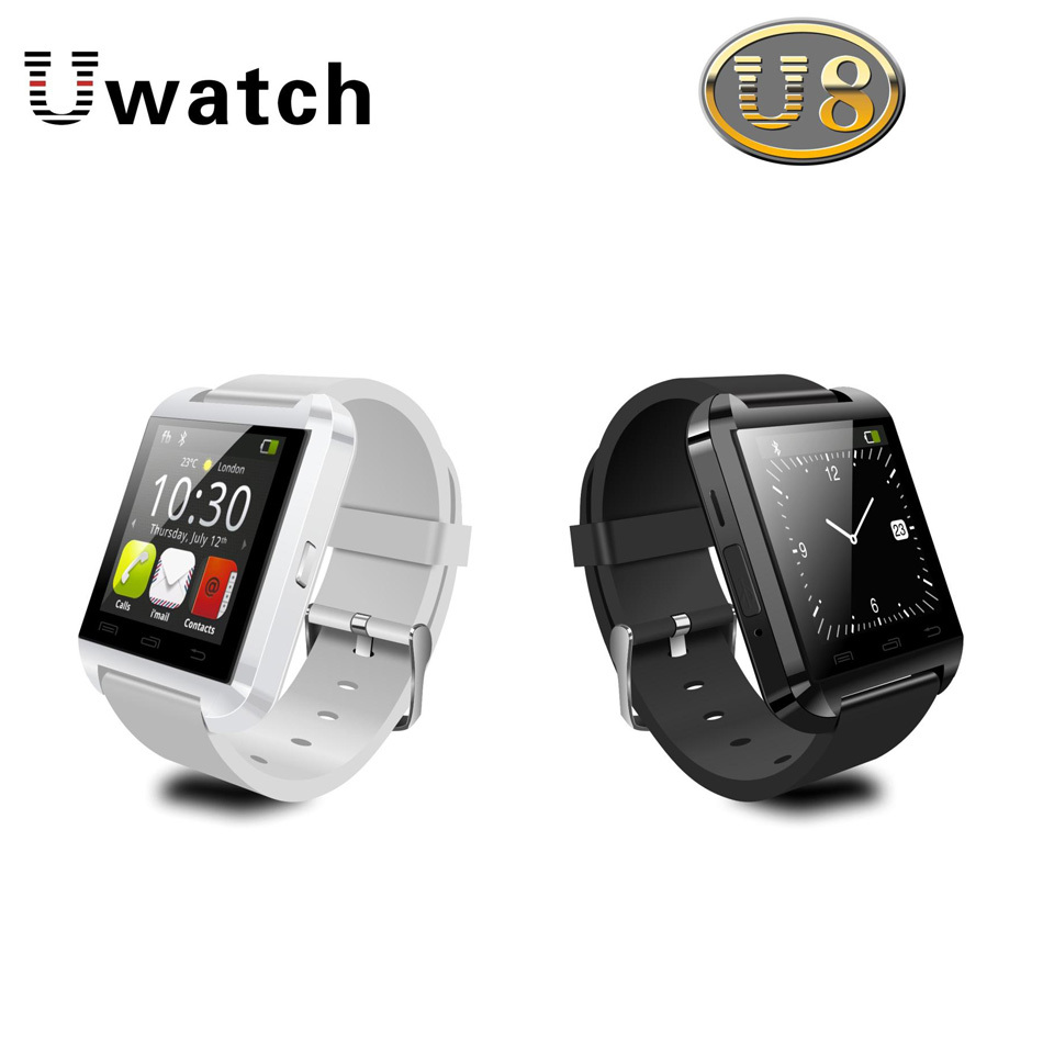U watch Original U8 wearable devices smart watch bluetooth wireless wristband For Samsung S5/S4/Note2/Note3 HTC Android Phone(China (Mainland))