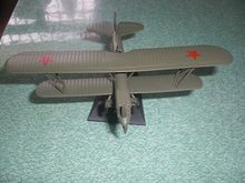 1:72 send the Soviet Red Army during World War II early biplane reconnaissance aircraft alloy model products in 1938(China (Mainland))