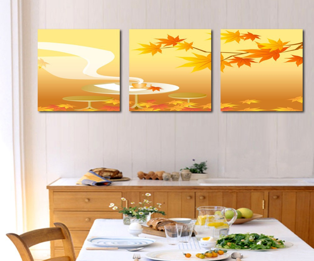 Hot Sell 3 Panels Modern Picture New Style Painting Home Decor Wall Art Picture Wall Paint On Canvas Pure hand-painted,Free Ship(China (Mainland))
