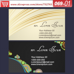 0069-01 business card template for printable thanksgiving name cards eco friendly business cards design of name card<br><br>Aliexpress