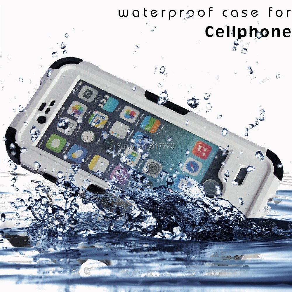 Waterproof Shockproof Dirtproof Durable Case Cover iPhone6 Black White 4.7inch Domestic Delivery US - Funny Little Dream store